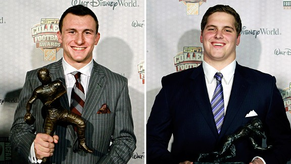 Johnny Manziel and Luke Joeckel