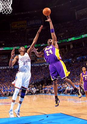 Kevin Durant, Kobe Bryant