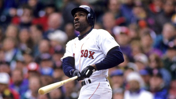 Andre Dawson with the Boston Red Sox