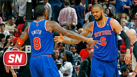 Tyson Chandler, J.R. Smith
