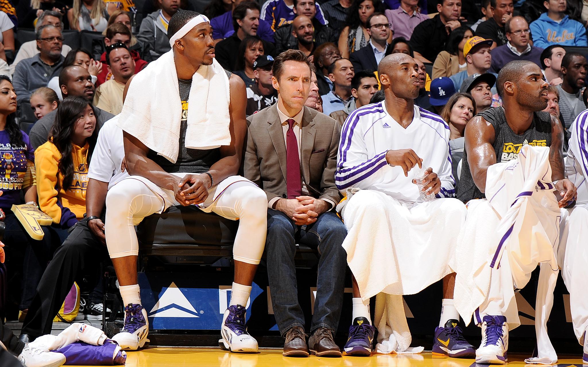 Dwight Howard, Steve Nash, Kobe Bryant