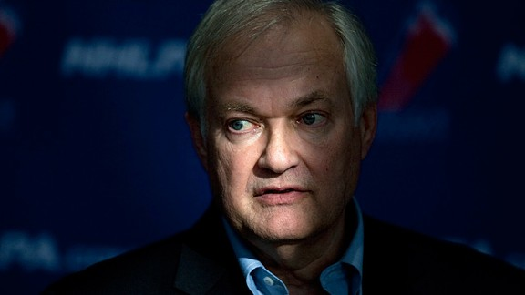 NHL players' association head Donald Fehr