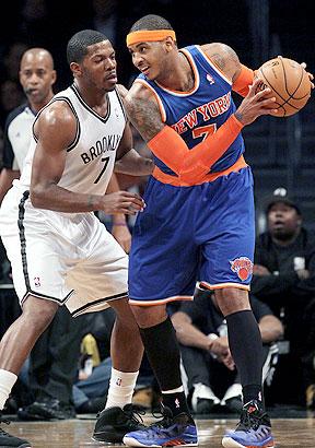 Joe Johnson and Carmelo Anthony
