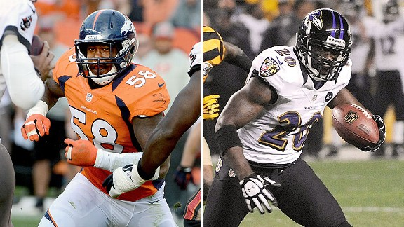 Double Coverage: Broncos at Ravens