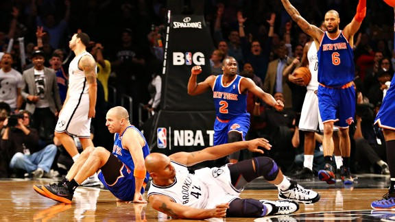 The New York Knicks and the Brooklyn Nets