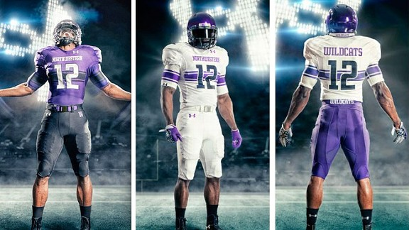 Northwestern Uniforms 