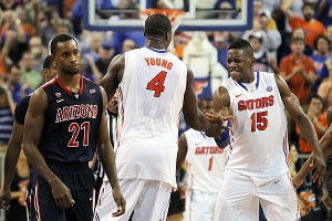 Patric Young and Will Yeguete