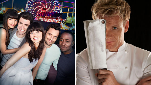Kitchen Nightmares/New Girl