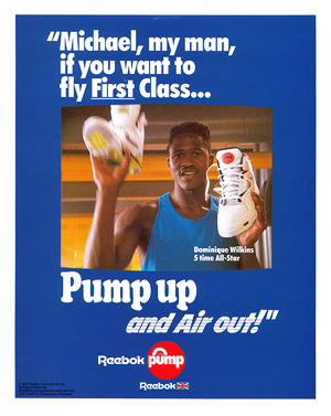 Dominique Wilkins and The Reebok Pump