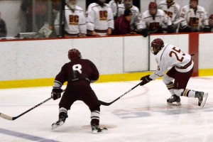 BC High hockey vs. Don Bosco