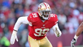 Aldon Smith to play 'a lot' against Saints