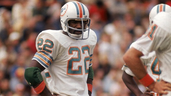 Mercury Morris of the Miami Dolphins
