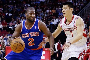 Raymond Felton and Jeremy Lin
