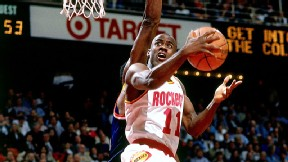 Vernon Maxwell with the Houston Rockets