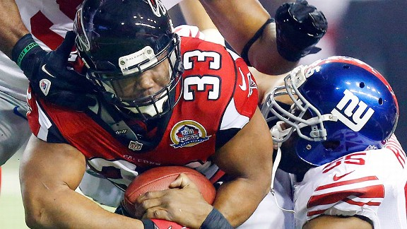 Falcons look for Michael Turner encore