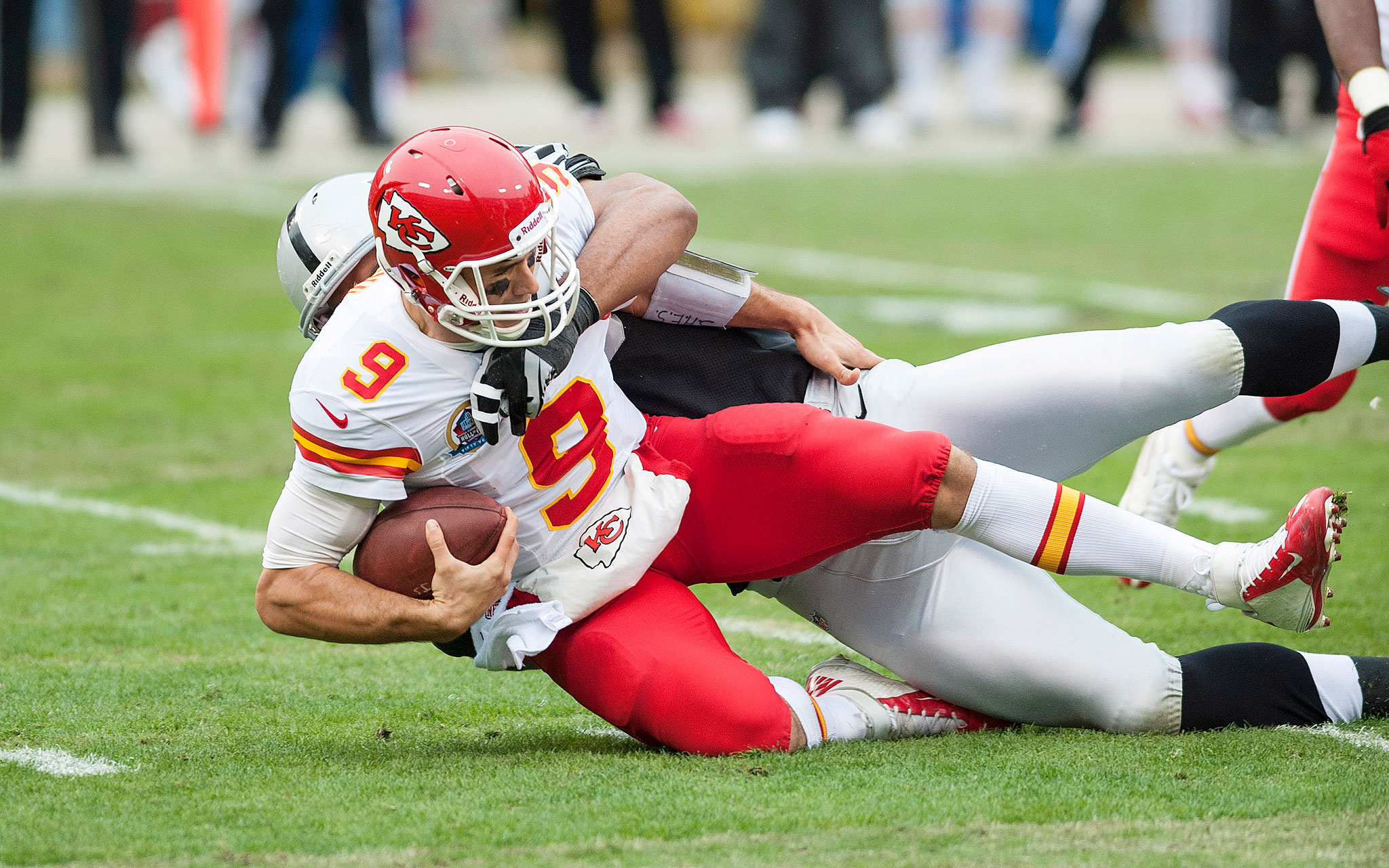Brady Quinn Chiefs Vs Panthers Not His Day - NFL Week...