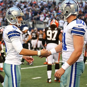 Garrett has leaned on the closing experience of kicker Dan Bailey