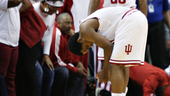 Kevin Ferrell and the Indiana Hoosiers against the Butler Bulldogs
