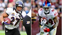 Ray Rice, Ahmad Bradshaw