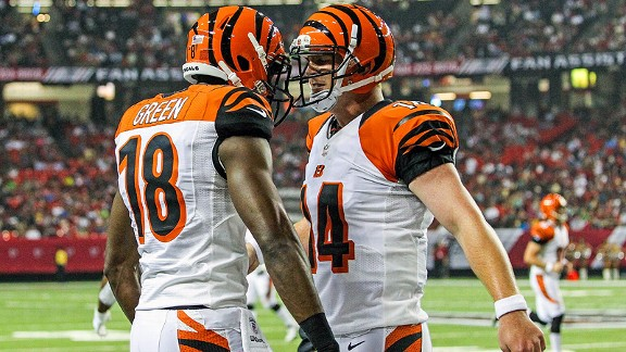 A.J. Green and Andy Dalton