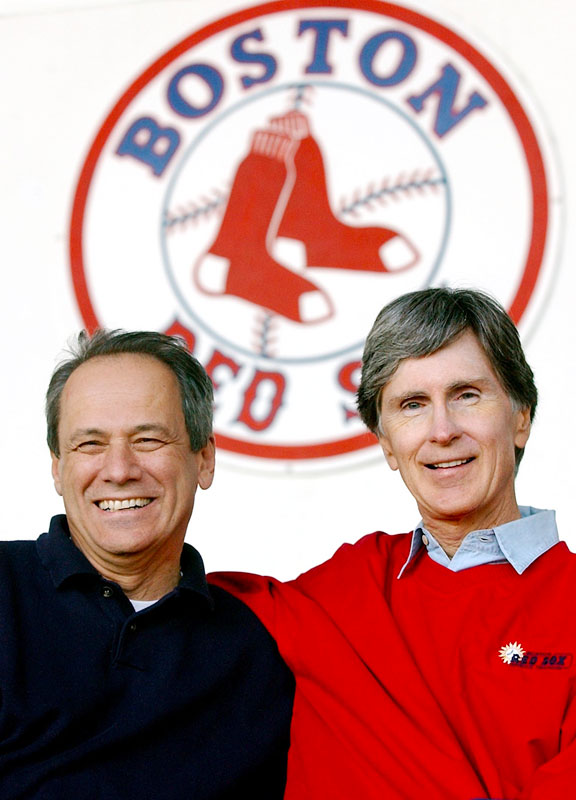 John Henry, Larry Lucchino and the Boston Red Sox