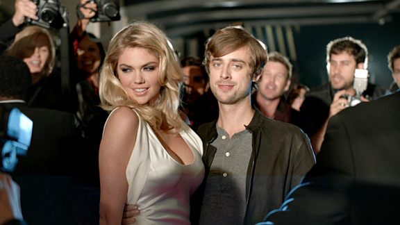 Kate Upton in a Mercedes-Benz Super Bowl ad