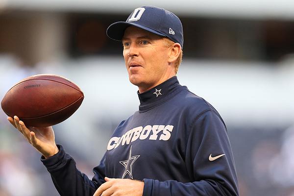Dallas Cowboys Locker Room Jason Garrett