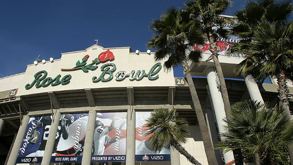 The Rose Bowl in Pasadena, Calif.