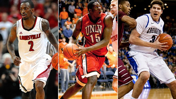 Russ Smith/Anthony Bennett/Doug McDermott