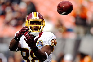 AP Photo/Mark Duncan The Redskins are 7-1 this season when receiver