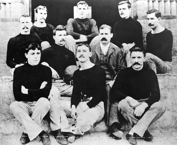 James Naismith and basketball's first team