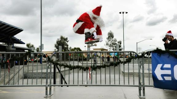 Santa rips.