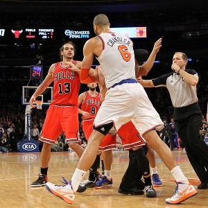 Joakim Noah and Tyson Chandler