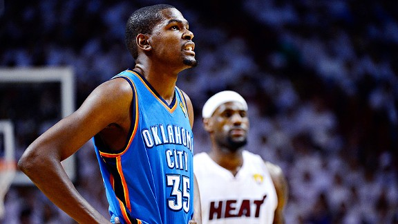 Coast to Coast - Kevin Durant still must best LeBron James