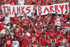 Barry Alvarez sign