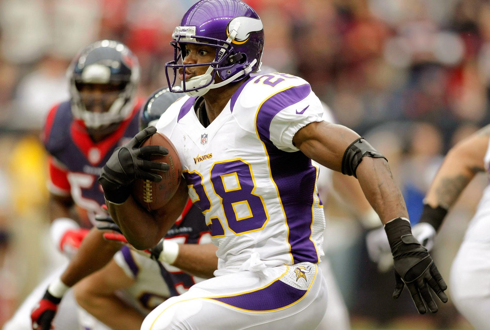 RUNNING BACK: Adrian Peterson, Minnesota Vikings - John