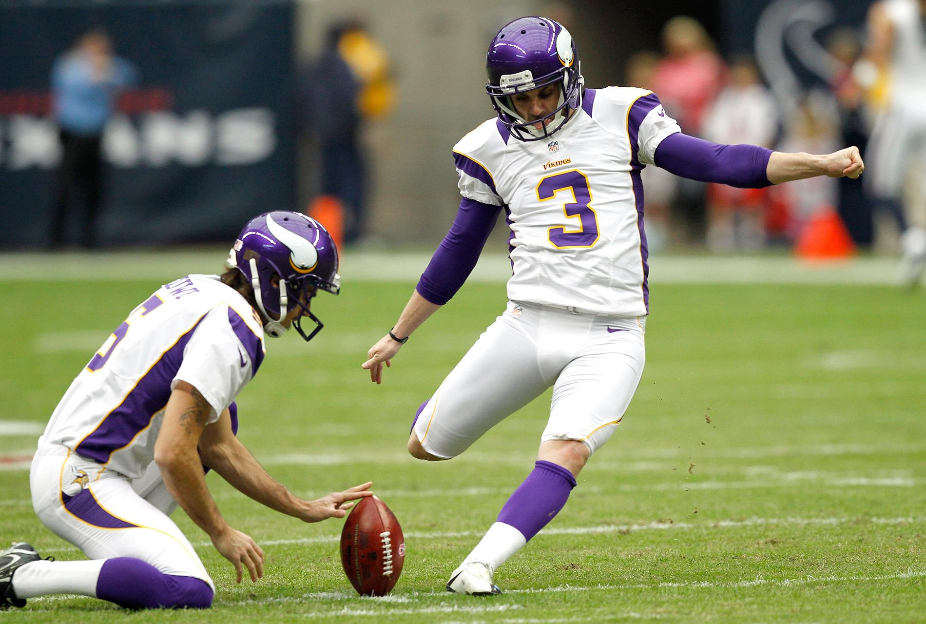 KICKER: Blair Walsh, Minnesota Vikings - John Clayton's ...