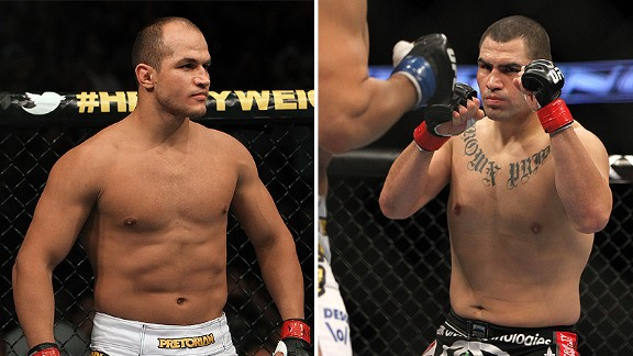 Junior dos Santos and Cain Velasquez