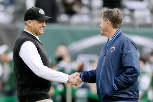 Rex Ryan and Norv Turner