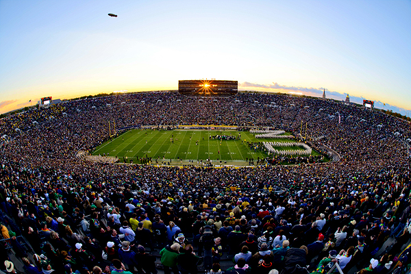 Matt Cashore/USA TODAY Sports Notre Dame's football program enjoyed a