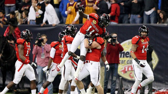 Texas Tech celebration