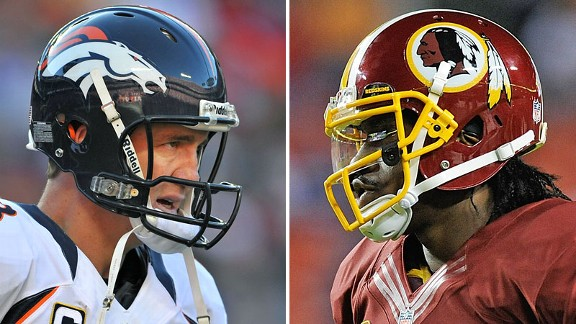 Peyton Manning and Robert Griffin III