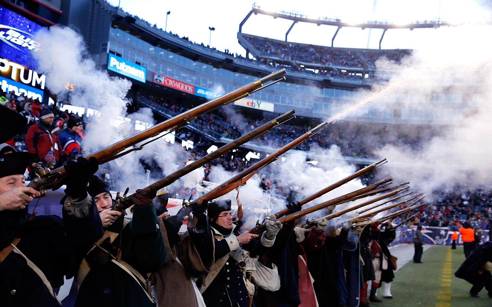 New England Patriots Militia