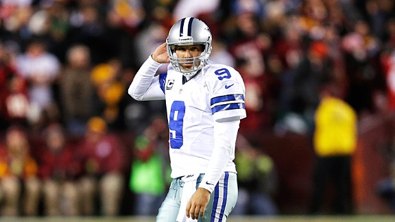 Tony Romo has himself to blame