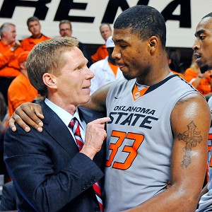 Mark Few and Marcus Smart