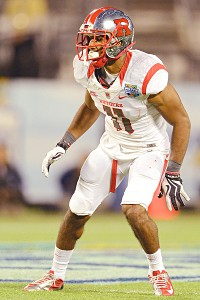 Rutgers Scarlet Knights defensive back Logan Ryan