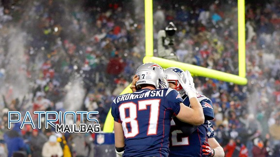 Rob Gronkowski and Tom Brady