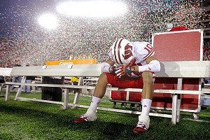 Devin Smith and Wisconsin Badgers