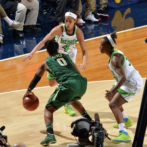 Skylar Diggins and Jewel Loyd