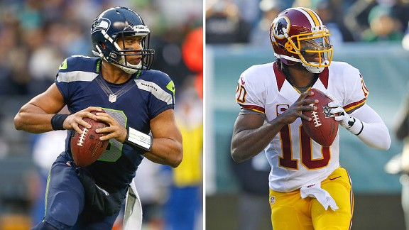 Russell Wilson and Robert Griffin III